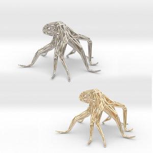 octopus 3D model