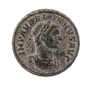 old ancient roman coin 3D model