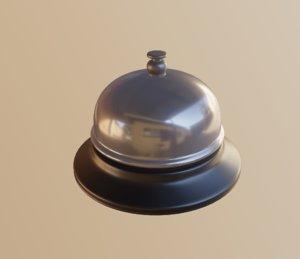 bell metal 3D model