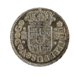 3D modeled ancient spanish coin