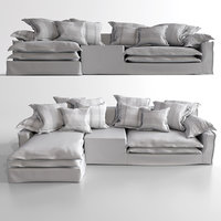 sofa couch seat jans 3D model
