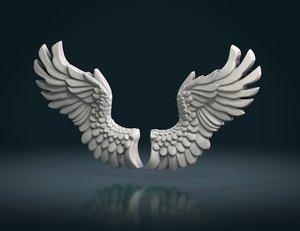 wings measure units 3D model