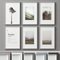 picture frames set -117 3D model