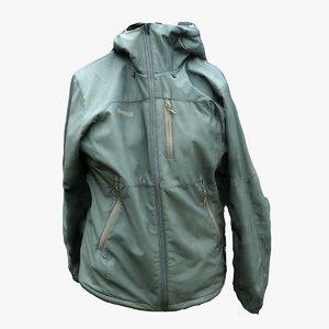 jacket clothes 3D model