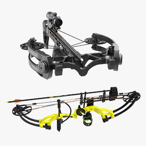 3D sport crossbow bow weapon