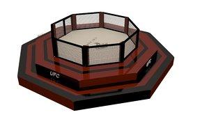 3D model ufc sport box