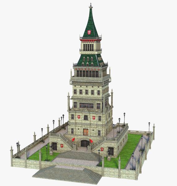 building structure 3D