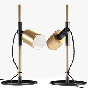 3D lamp design light model