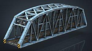 3D train bridge