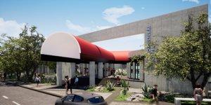 architectural cultural center autodesk 3D model