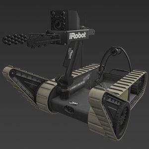 3D irobot 310 sugv model