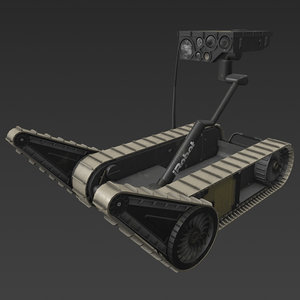 3D irobot xm1216
