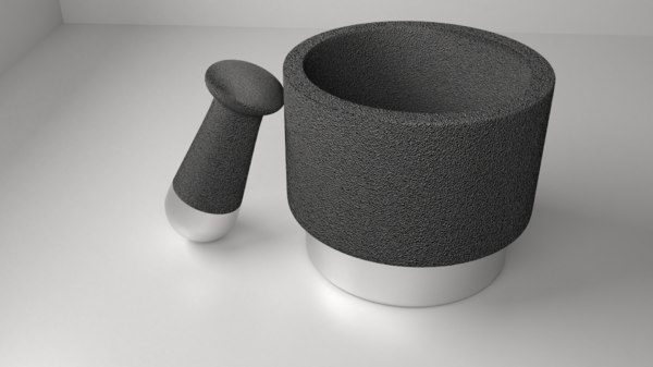 stone ceramic mortar pestle model
