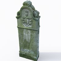 3D tombstone