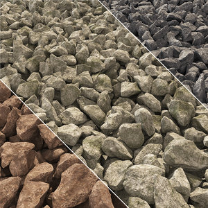 stone gravel model