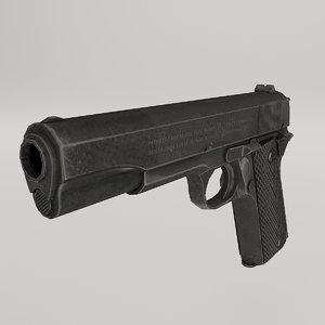 3D model colt 1911