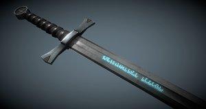 sword hexenbane witch hunter model