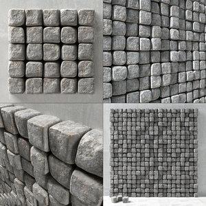 panel stone 3D model