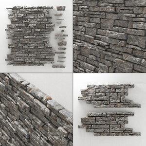 3D panel rock
