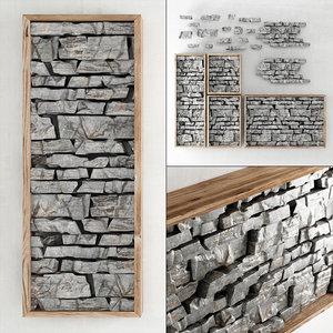 panel rock 3D