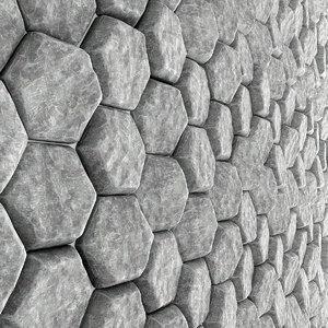 3D panel stone