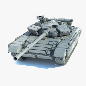 main t-64 bv 3D