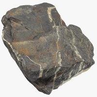 3D mountain rock 09