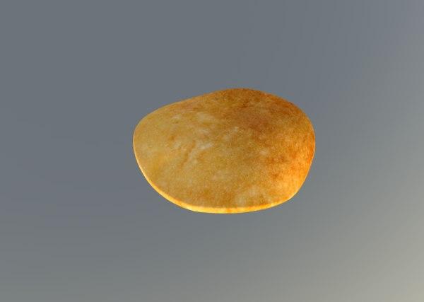 3D pancake pan model