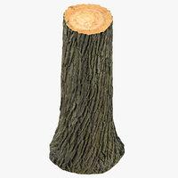 tree trunk 01 3D model