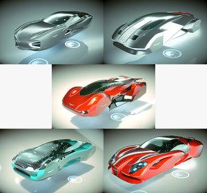 5 1 cool hover car 3D