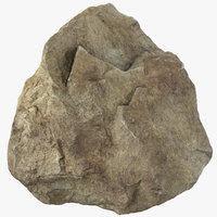 3D model mountain rock 14