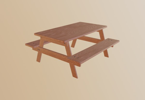 table picnic 3D model