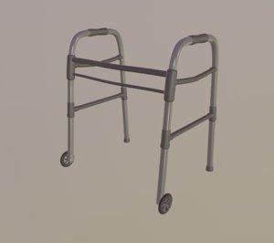 wheeled walker walk 3D