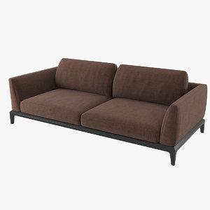 3D busnelli akita sofa v2