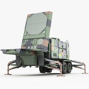 mpq-53 radar 3D model