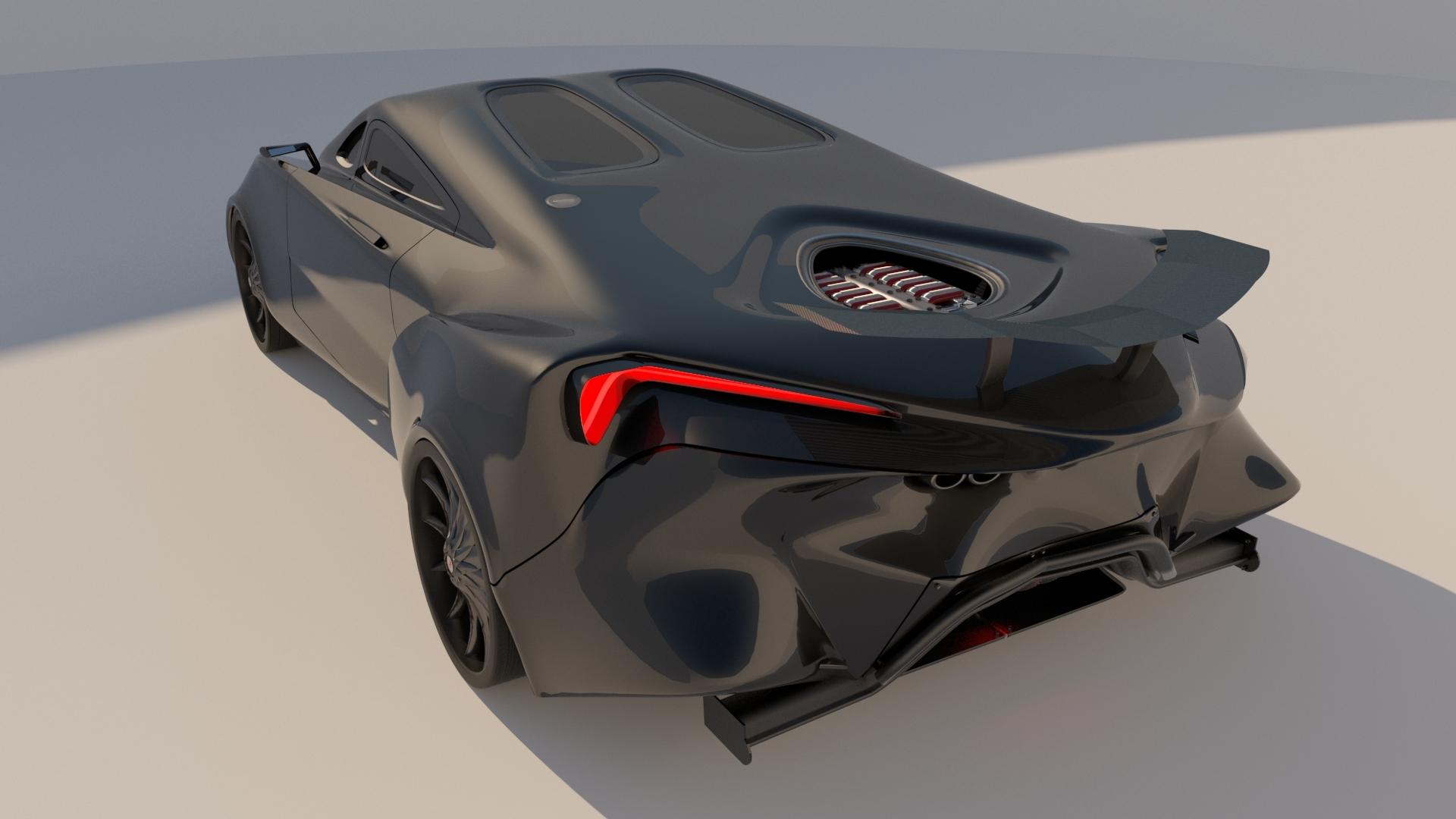 v12 vehicle 3D model