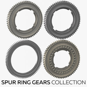 3D spur ring gears