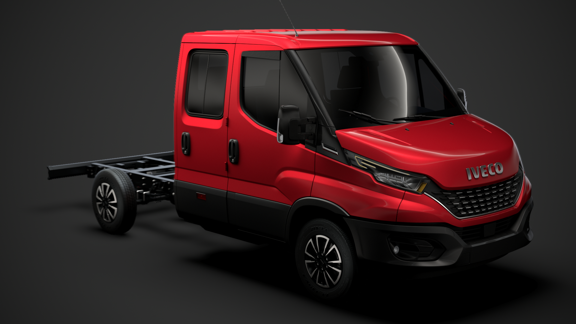 iveco daily crew cab 3D