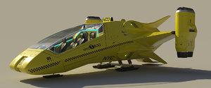3D air taxi model