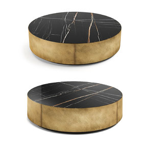 oval coffee tables belt 3D model