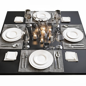 3D table setting 14
