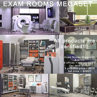 3D exam rooms megaset mri