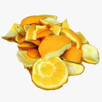 scan orange peels 3D model