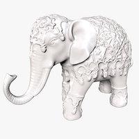 Hindu Elephant Statue