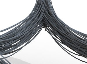 cable wire 3D model