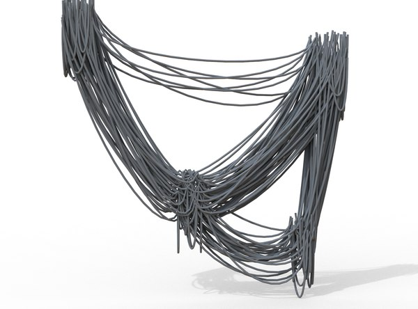 3D cable wire model