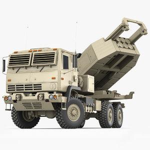 m142 himars army truck 3D model