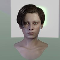 3d model John Connor Edward Furlong