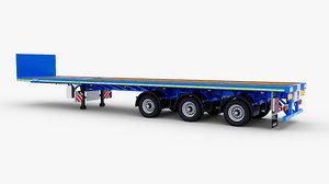 3D nooteboom ovb-48-03 trailer model