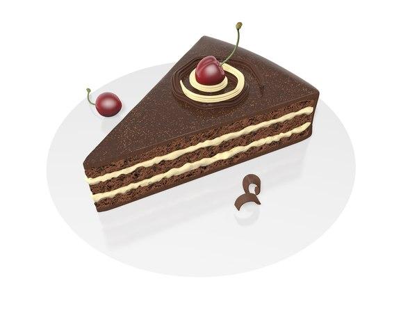 3D sweet cakes